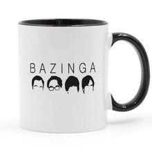 BAZINGA Big Bang Theory Coffee Mug Ceramic Cup Gifts 11oz футболка стрэйч printio bazinga the big bang theory
