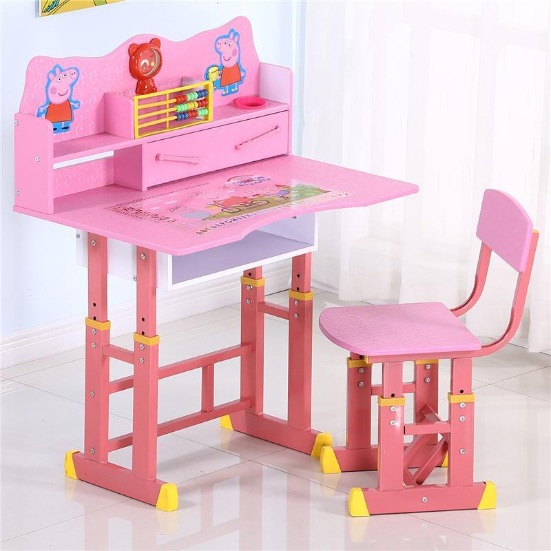 Estudo Escritorio Infantil De Estudio Toddler Silla Y Mesa Infantiles Adjustable For Kinder Bureau Enfant Study Kids Table