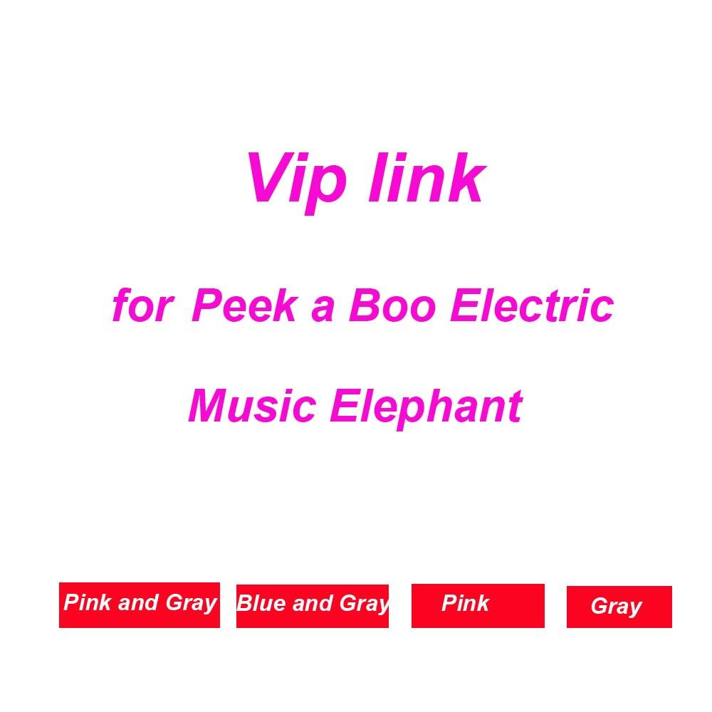 Drop Verschiffen Peek a Boo Elektrische Elefant Gefüllt Plüsch Puppe Spielen Musik Elefanten Pädagogisches Anti-stress Spielzeug Für Kinder