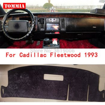 TOMMIA For Cadillac fleetwood 1993 Interior Dashboard Cover Light Avoid Pad Photophobism Mat Sticker