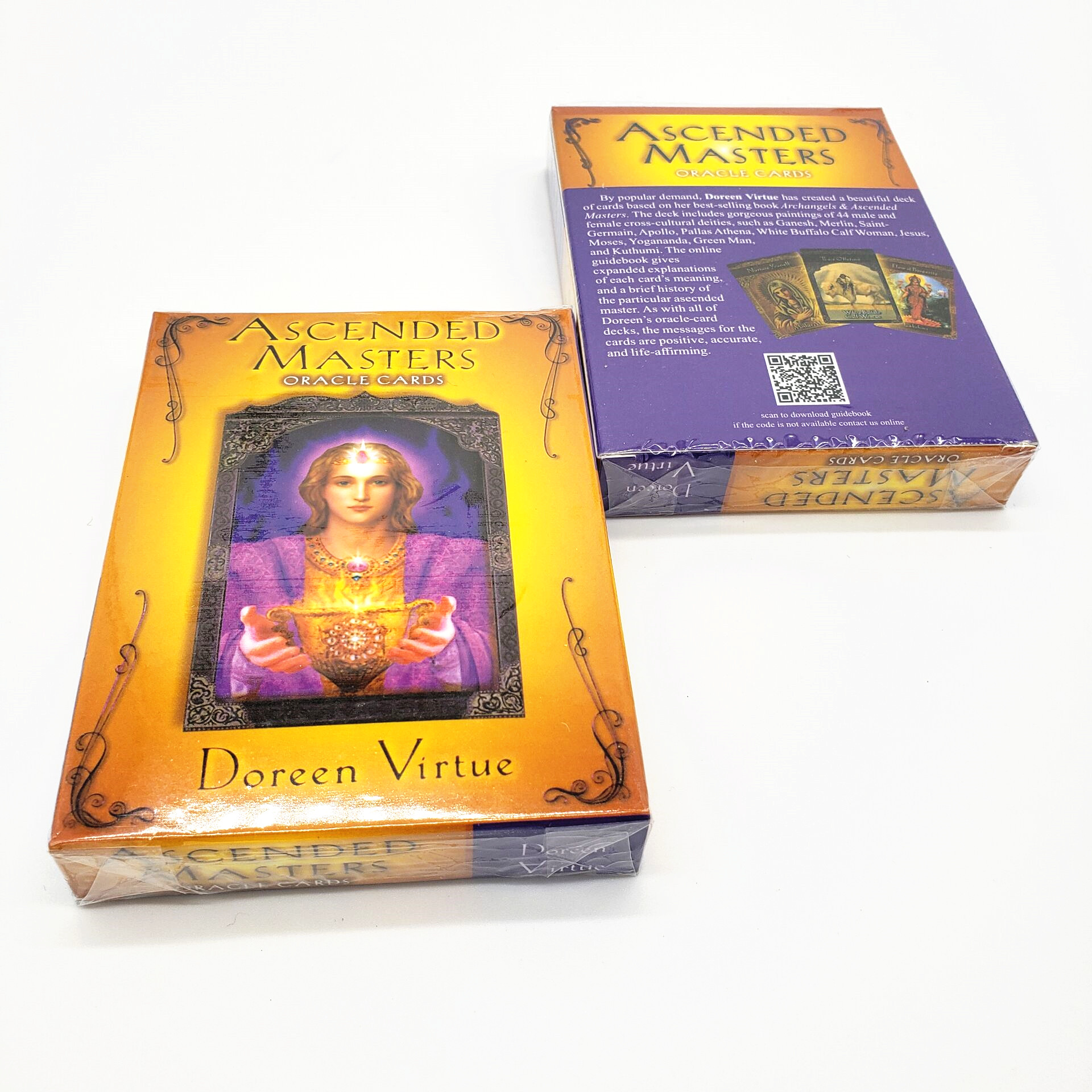 Ascended Masters  Cards Guidance -divination Fate Tarot Deck Board Game 44 Cards/sets