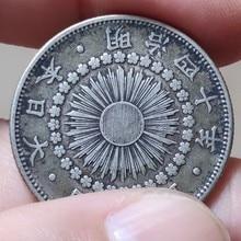 27,27 мм The Rising Sun 10 г 1906-1917, натуральная комарантная монета, оригинальная коллекция