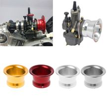 цены 50mm Motorcycle Carburetor Air Filter Wind Horn Cup For Keihin OKO KOSO MIKUNI PE PWK24/26/28/30 E28 PE30 Fuel Supply