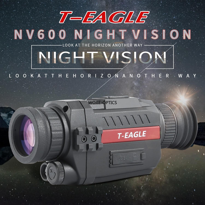 NV600 nachtsicht 5X Infrarot Digital Kamera Vedio 200m Palette Monokulare Umfang Für Jagd taktische infrarot nachtsicht