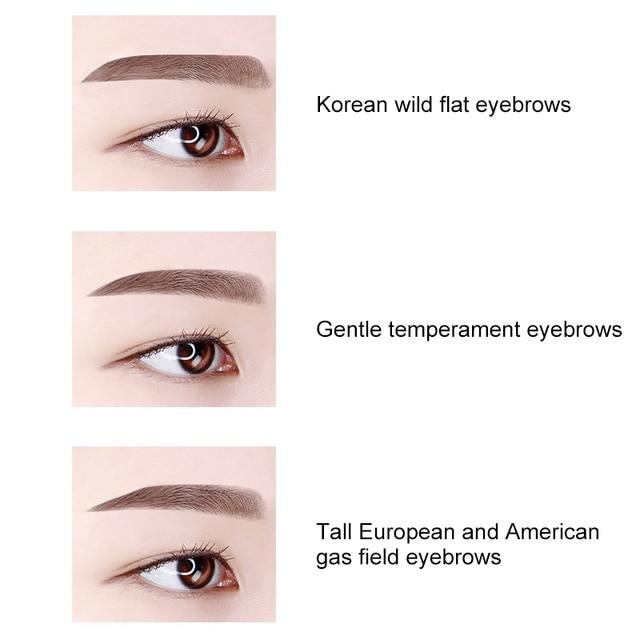 Eyebrow Stencils Professional Makeup Eyebrow Template Adjustable Eyebrow Shapes Tool Portable Handheld Eyebrow Clip (PINK)-ABVP 5
