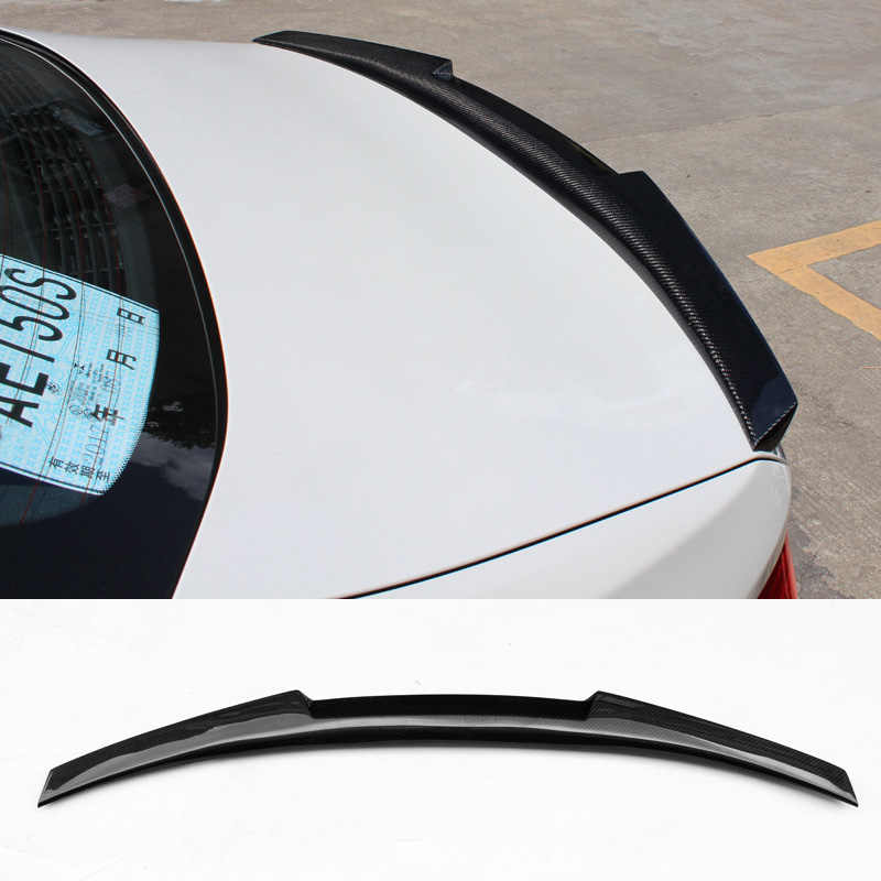 G38,A Real Carbon Fiber M4 Style Rear Trunk Spoiler Fit for BMW 2//3//4 Series M4//F82 E92 F10 F33 F32 F36 E93 E90 G30 F18 F22 M4//F83