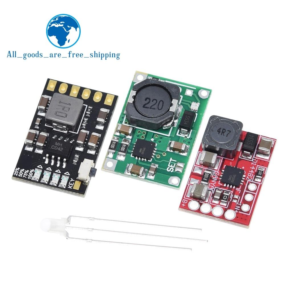 Плата модуля зарядного устройства TP5100, TP5000 1A 2A, совместима с одиночными и двойными литиевыми батареями 4,2 в 8,4 в