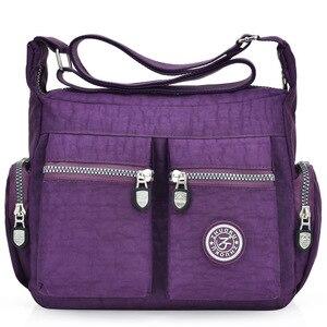 Image 5 - 2020 여성 가방 새로운 방수 어깨 & crossbody 가방 지퍼 나일론 패션 크로스 여행 여성 메신저 가방