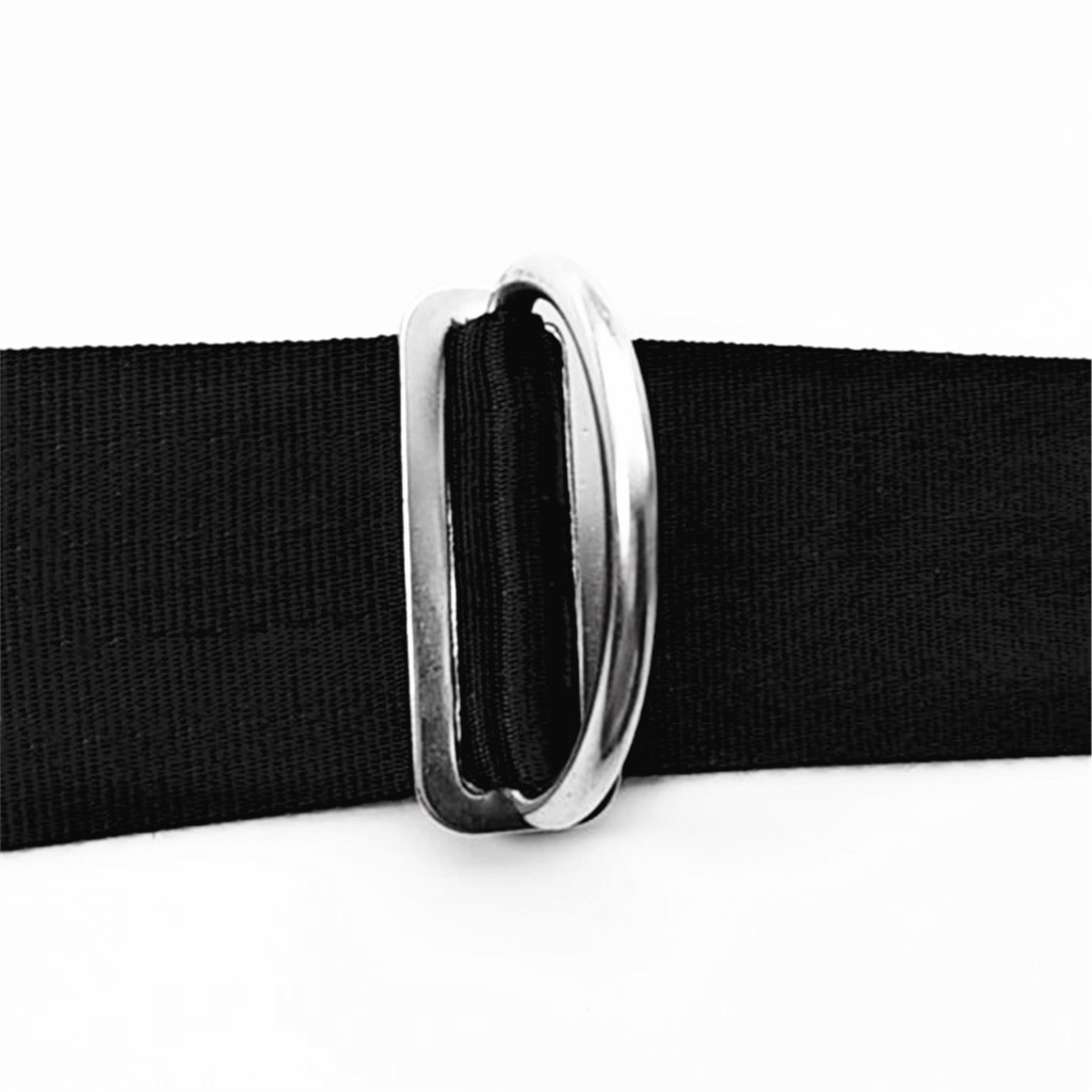 D-Ring Weight Belt Keeper Stainless Steel Retainer Scuba Diving Accessories