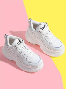 Platform Sneakers Vulcanize Shoes Trainers Femme Woman Lady Brand Sports Summer