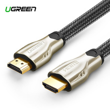 Ugreen HDMI Cable HDMI to HDMI 2.0 HDR 4K for Xiaomi Splitter Extender Adapter Nintend Switch PS4  TV Box 5m 10m Cable HDMI