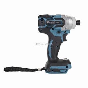 """Image 4 - 1/4 """"6.35 millimetri Elettrico Ricaricabile 18V brushless cordless impact driver 1/4"""" 6.35 millimetri 18V cordless impact driver del corpo"""