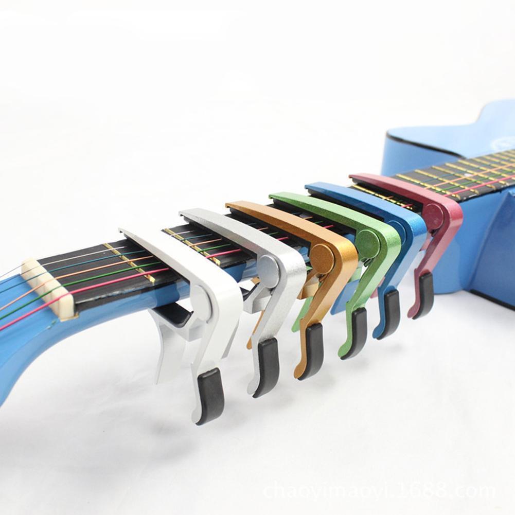 Universal Capo Guitar Accessories Quick Change Clamp Parts Classic For Guitar Guitar Acoustic Metal Capo Alloy Aluminium Ke R4X1