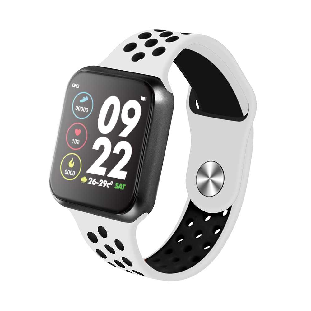 F9 s PK iwo8 b57 Touch Screen smartwatches to Monitor Heart rate and Blood pressure Supported for IOS Android for men women