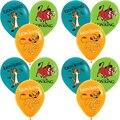 12 шт./лот 12 дюймов Король Лев латексных воздушных шаров с вечерние поставки Kion Guard сафари Джунгли животных Pet зоопарк Воздушные шары игрушки ...