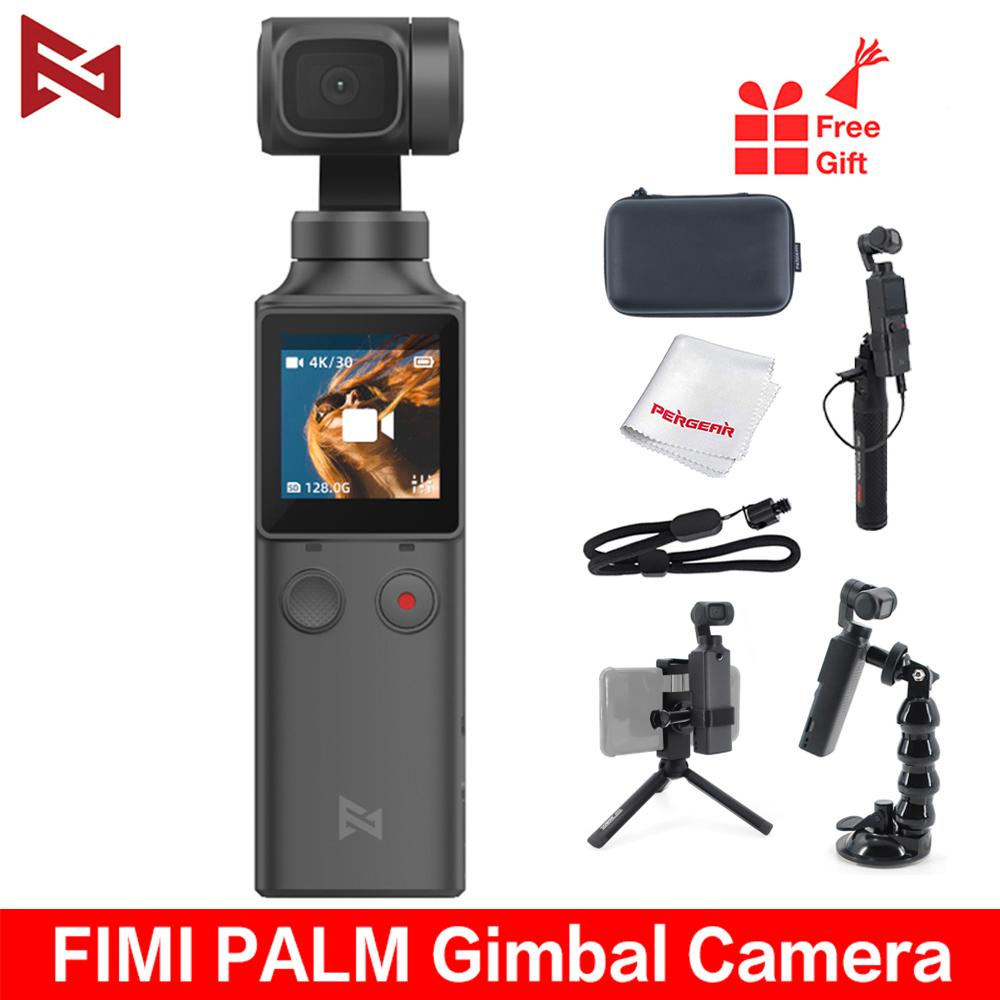 FIMI PALM 4K HD 3-Axis Handheld Gimbal Stabilizer 128° Wide Angle 120g Wi-Fi Control Cup Extension Holder Accessories Wholesale