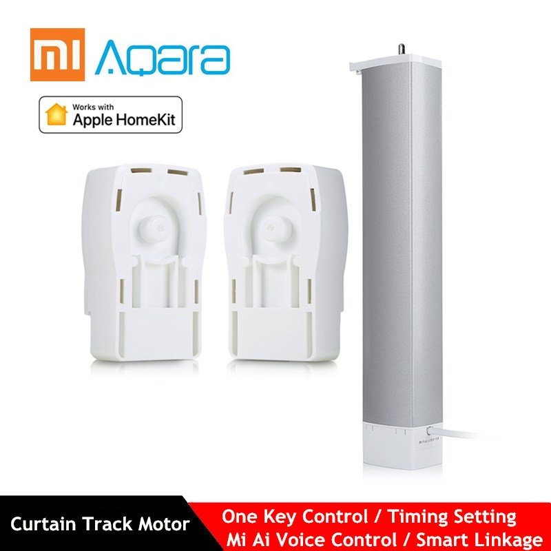 Aqara Smart Curtain Control Motor With 82 Rotating Box Track (3m / 4m / 5m) For Curtain Control Support Mi Home APP Control