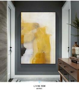 Image 2 - Laminas decorativas pared cuadros duvar sanatı tuval Vintage boyama pinturas decorativas abstracto boyama oturma odası için büyük