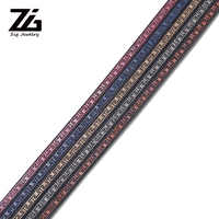 ZG 5mm jewelry making leather cord cabochon  diy jewelry accessories for needlework Accessories for jewelry