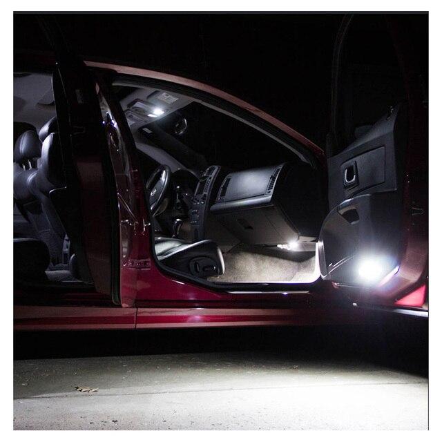 White Car Bulbs Canbus Error Free LED Interior Light Kit For 2011-2013 2014 2015 2016 2017 Chrysler 200 Map Dome License Lamp 3