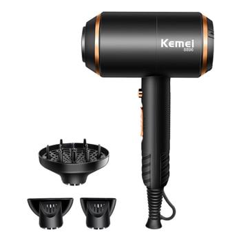 Kemei KM-8896 Professional เครื่องเป่าผม Super Power 4000W WIND WIND เครื่องเป่าผมไฟฟ้าเครื่องมือ Salon EU Plug