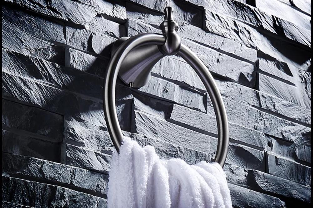 нержавеющая сталь ванная полотенце кольца проволока чертеж круглая форма полотенце вешалки% 2Fbar настенный навесной ванная оборудование