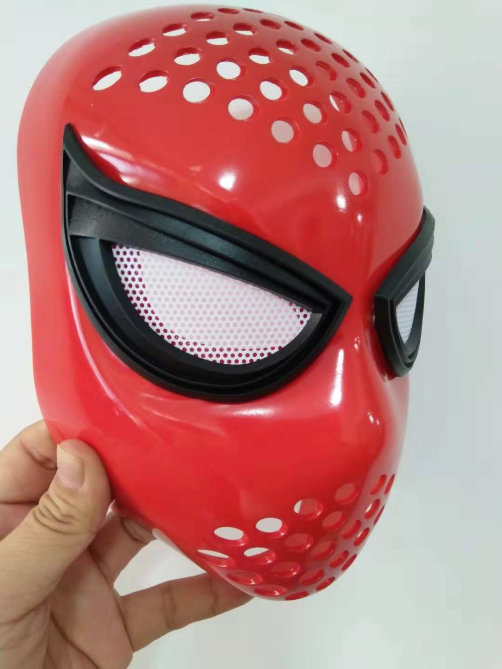 Homecoming Mask Civil War Amazing Spiderman Faceshell With LensesCosplay Props