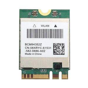 Dwuzakresowy bezprzewodowy BCM94352Z BCM94360NG karta WIFI Hackintosh NGFF M.2 1200 mb/s Bluetooth4.0 NGFF 802.11ac bezprzewodowa sieć lan Adapter DW1560