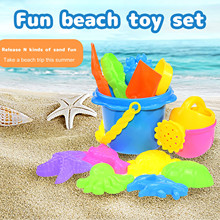 Toys-Set Sand-Toy Seaside Playing Kids Children Beach Summer Learning Educational 10/13/17pcs