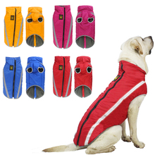 Dog-Vest Pet-Jacket Dogs Soft-Fleece Large Winter Medium Cotton Warm Waterproof for XL-6XL