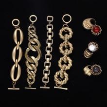 Vedawas ZA новые золотые Ограниченная серия квадратный браслет-цепочка для Для женщин Модные украшения дружбы вечерние Шарм Браслеты браслет