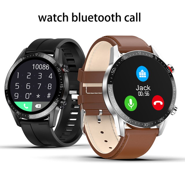L13 ساعة ذكية مراقب معدل ضربات القلب الرجال النساء Smartwatch IP68 مقاوم للماء جهاز تعقب للياقة البدنية الرياضة بلوتوث دعوة PK DT98 DT78