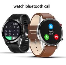 L13 akıllı saat nabız monitörü erkekler kadınlar Smartwatch IP68 su geçirmez spor izci spor Bluetooth çağrı PK DT98 DT78
