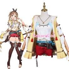 Anime! Atelier Ryza: Ever Darkness & the Secret Hideout Reisalin Stout Lovely Uniform Cospl