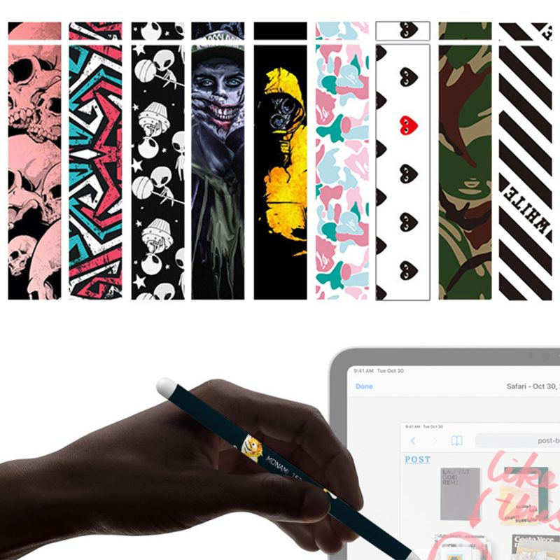 Ultra-thin Protective Body Sticker Skin Universal Anti-slip Decal Cover For Apple Pencil 2nd Generation For IPad Stylus Pen