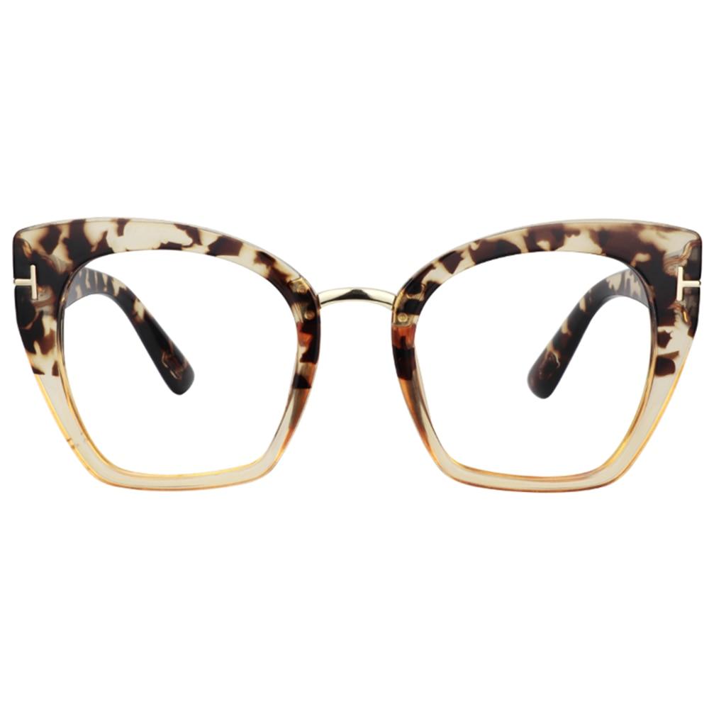 Zeelool Customized Prescription Glasses - Cat Eye Glasses for Women Lulu VFP0255