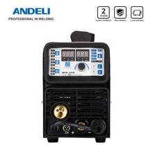 ANDELI портативный интеллектуальный CO2 mig сварочный аппарат MIG-250 многофункциональный MMA/MIG 2 в 1 220 В mig сварочный аппарат