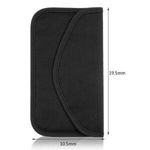Image 4 - 6 인치 gsm 3g 4g lte gps rf rfid 신호 차단 가방 휴대 전화에 대 한 안티 방사선 신호 차폐 파우치 지갑 케이스