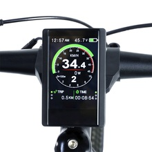 Buy Electric Bike Colorful Screen Display New P850C Speedometer with 9-level Assist For Bafang Ebike BBS01B BBS02B BBSHD Mid Motor directly from merchant!