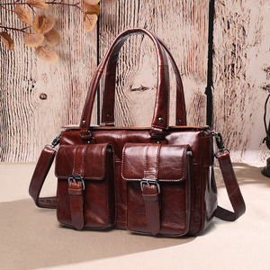 Image 1 - Cobbler Legend Women Handbag Genuine Leather Shoulder Bags Fashion Totes Hobos Female new Luxury Bag Designer Messenger Famous