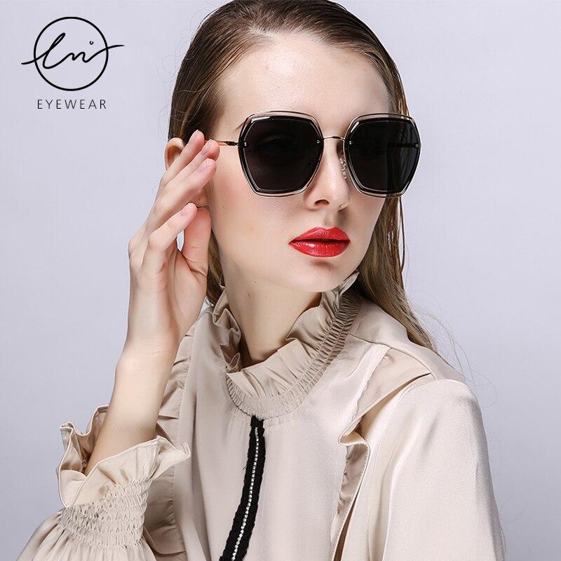 Купить lm 2021 женские поляризованные солнцезащитные очки с двойной