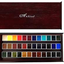 Original Daniel Smith offizielle farbe passenden 36 farben aquarell sub-verpackung wasser farbe malen malerei lieferungen für künstler
