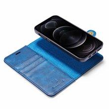 12プロpuレザー財布フリップ電話ケースiphone 12ミニ11プロマックスxs最大xr × 8 7 6sプラス5s、se着脱式磁気カバー