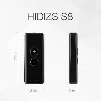 AMPLIFICADOR DE Decodificación De Auriculares Hidizs S8 Double-CS43131 USB Portátil DAC Tipo C A 3,5 MM HiFi Para Android