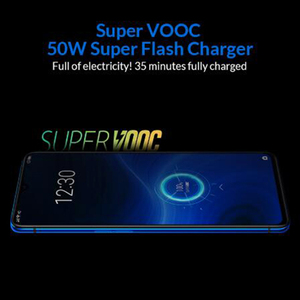 "Image 2 - EU Version OPPO Realme X2 Pro 6.5"" Snapdragon 855 Plus Octa Core 8GB RAM 128GB ROM NFC 64MP Face ID 4000mAh Mobile Phone"