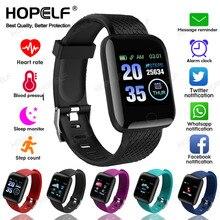 Relógio inteligente para homem ou mulher android ios bluetooth medição da pressão arterial monitor de freqüência cardíaca