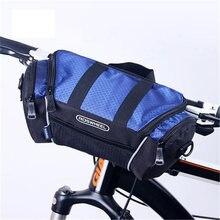Передняя сумка для велосипеда на руль складная быстросъемная