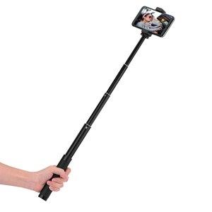 Image 5 - Için Zhiyun Feiyu Selfie sopa uzatma Reach çubuk ayarlanabilir uzatma braketi DJI OSMO Mobile 2/cep 3 Gimbal aksesuarları