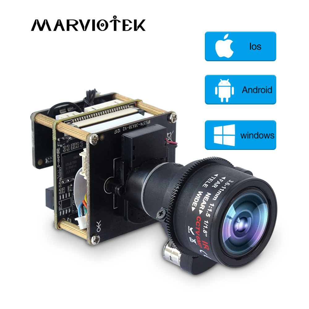 PTZ Mini IP Camera Module Board 3X Zoom 3.6-11mm Motorized Lens Sony IMX226 onvif 4K 12MP Starlight UHD CCTV Camera Module H.265