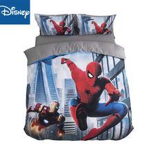Disney spider man набор постельного белья с 3d принтом один